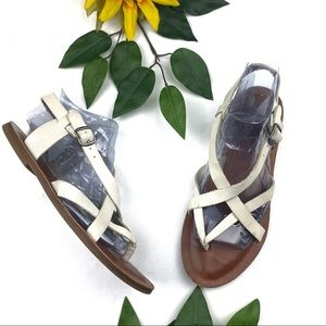 Lucky Brand Strappy Leather Sandals